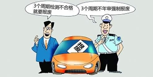 机动车强制报废标准规定