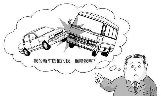 关于车辆贬值损失赔偿问题